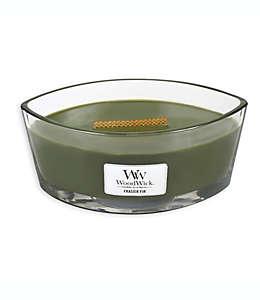 Vela en tarro ovalado WoodWick® Frasier Fir™