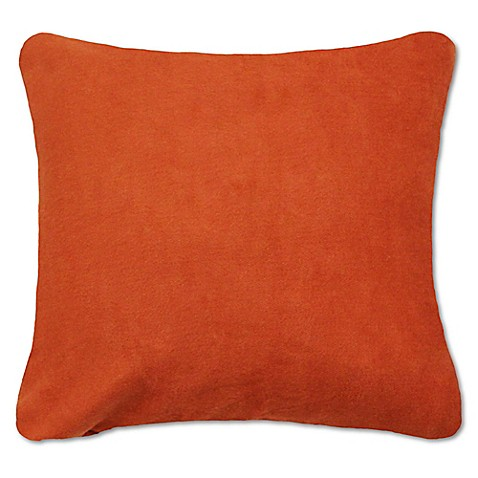 24 Square Throw Pillows : Buy PUR 24-Inch x 24-Inch Cashmere Square Throw Pillow in Terracotta from Bed Bath & Beyond