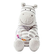 image of Giggle® Soft Small Hippo Ring Rattle