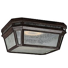 image of Feiss® Londontowne 1-Light LED Outdoor Flush Mount Fixture