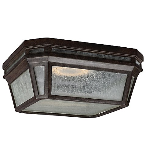 Feiss 174 Londontowne 1 Light Led Outdoor Flush Mount Fixture Bed Bath Amp Beyond