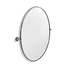 image of Gatco® Latitude II 23.63-Inch x 27.5-Inch Framed Oval Mirror