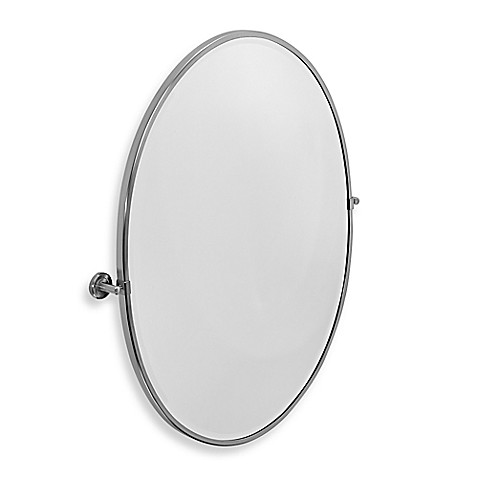 gatco bathroom mirrors buy gatco 174 latitude ii 28 13 inch x 33 inch framed oval 12943