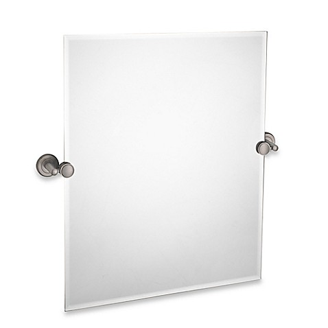 gatco bathroom mirrors buy gatco 174 latitude ii 24 inch x 24 inch rectangular 12943