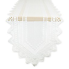 image of Nordic 72-Inch Lace Table Runner