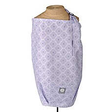 image of Dr. Sears Balboa Baby® Nursing Cover in Lavender Trellis