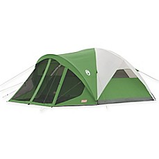 image of Coleman® 6-Person Screened Dome Tent in Green/White