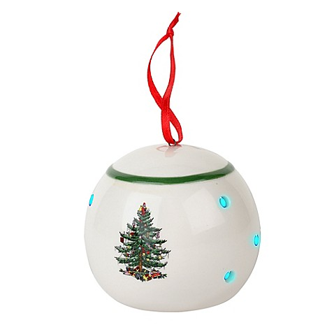 Spode 174 Christmas Tree Led Bauble Ornament Bed Bath Amp Beyond