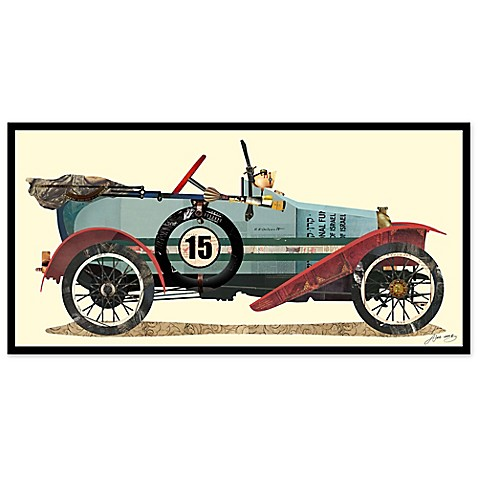 Antique Automobile #1 Collage Wall Art by Alex Zeng - Bed Bath & Beyond