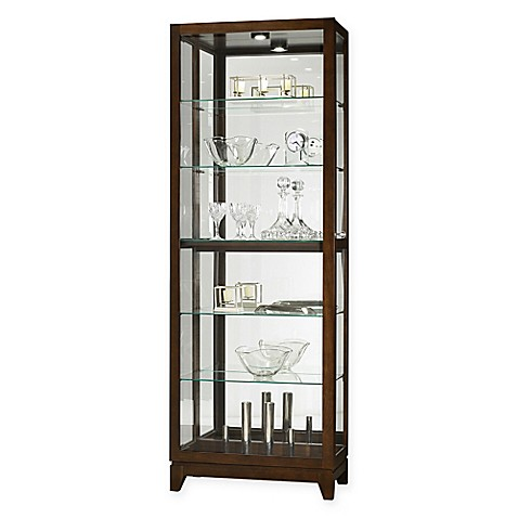 bathroom curio cabinet howard miller 174 luke curio cabinet bed bath amp beyond 11465