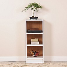 image of Manhattan Comfort Greenwich 3-Shelf Tall Bookcase