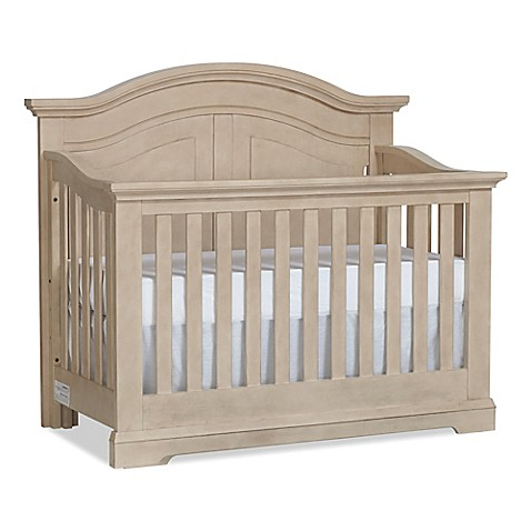 Centennial Chatham Curve Top Crib In Driftwood