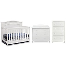 image of Simmons Kids® Barrington Nursery Furniture Collection in Bianca
