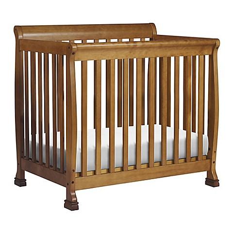Davinci Kalani 2 In 1mini Crib And Twin Bed In Chestnut