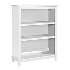 image of DaVinci Autumn Bookcase / Hutch in White