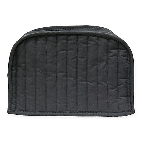 buy ritz quilted 2 slice toaster cover in graphite from bed bath beyond. Black Bedroom Furniture Sets. Home Design Ideas