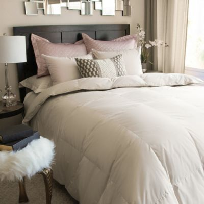 Nikki Chu ISRA White Down Comforter in Clay Bed Bath Beyond