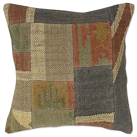 Patchwork Square Throw Pillow - Bed Bath & Beyond