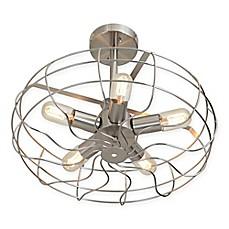 Lumisource Ozzy 5 Light Semi Flush Ceiling Light