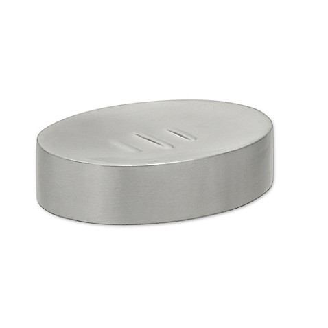 Titan 174 Maddie Soap Dish In Brushed Nickel Bed Bath Amp Beyond