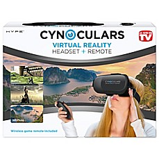 image of Cynoculars Virtual Reality Headset and Remote