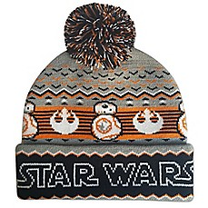 Image Of Star Wars™ BB8 Ugly Sweater Pom Beanie