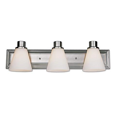 Buy bel air 6 light bath bar light fixture in satin nickel for Bath bar light fixture