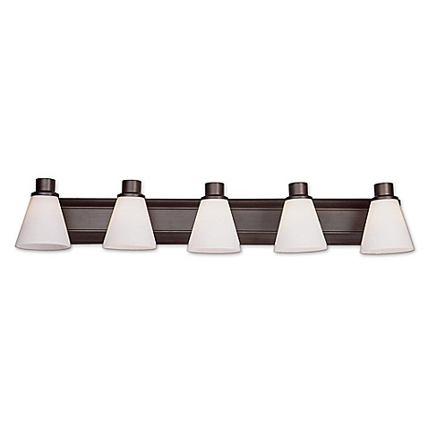 Buy Bel Air Roanoke 8 Light Bath Bar Light Fixture In Oil Rubbed Bronze From Bed Bath Beyond