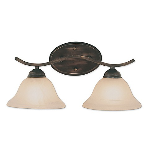 Buy Bel Air Pine Arch 2 Light Wall Bath Bar In Oil Rubbed Bronze From Bed Bath Beyond