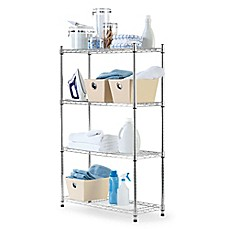 Image Of Commercial Grade 4 Tier Shelving Unit