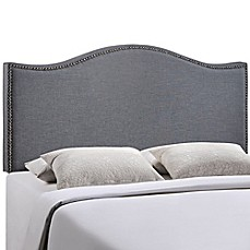 image of Modway LexMod Curl Nailhead Upholstered Headboard