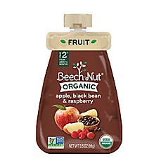 image of Beech-Nut® Organic Stage 3 Apple, Black Bean, and Raspberry Cold Purée