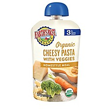 image of Earth's Best® Stage 3 Organic Cheesy Pasta with Veggies Homestyle Pouch