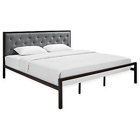 Modway Mia Fabric Bed Frame - Bed Bath & Beyond