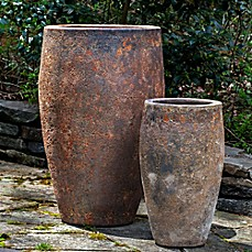 image of Campania Ta Som Planter in Angkor Green Mist (Set of 2)