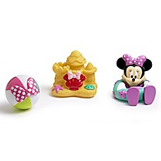 image of Disney® Minnie Mouse 3-Pack Bath Squirt Toys