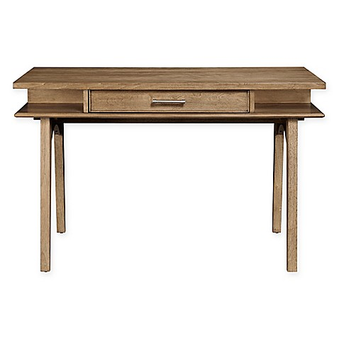 Buy Stone Leigh By Stanley Furniture Chelsea Square Desk In Light Brown From Bed Bath Beyond
