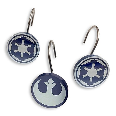 Elegant Star Warsu0026trade; Shower Curtain Hook (Set ...