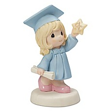 image of Precious Moments® Graduation Girl Holding A Star Figurine