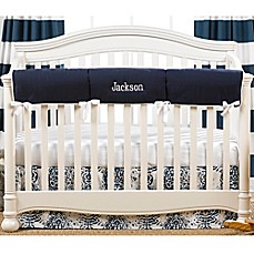 and guards navy covers designs crib large for gray carousel guard elephants cover rail