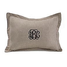 image of Liz And Roo Linen Throw Pillow in Natural