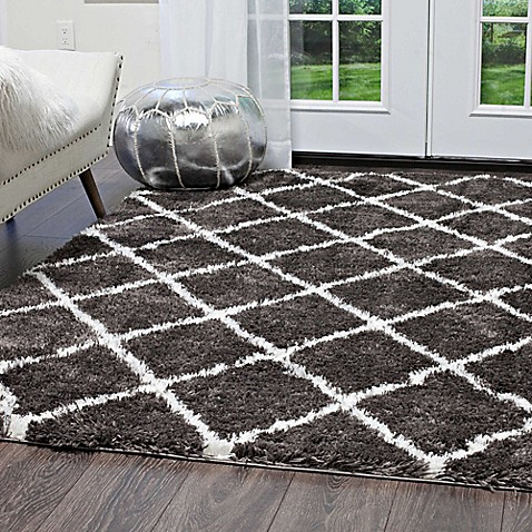 Image Of Home Dynamix Oxford Shag Area Rug