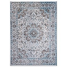 Home Dynamix Denim Traditional Bordered Area Rug