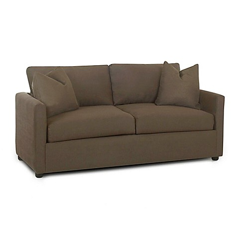 Klaussner Furniture Jacobs Sleeper Sofa In Thyme Bed