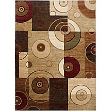 image of Home Dynamix Tribeca Contemporary Reaction Area Rug in Multicolor