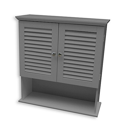 Buy Summit Wall Cabinet In Grey From Bed Bath Amp Beyond