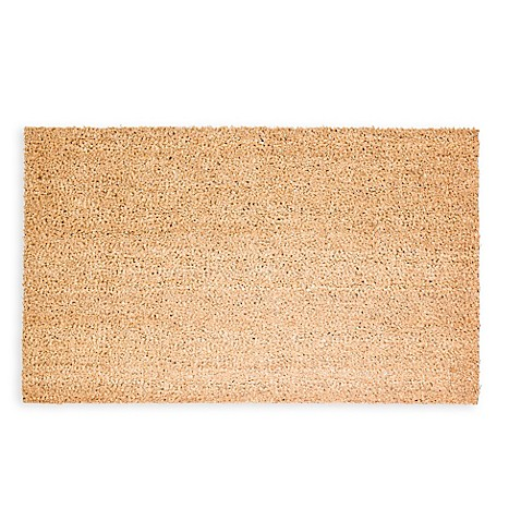 Decoir Natural Tan Coir Door Mat Bed Bath Amp Beyond