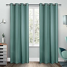 Blue Window Curtains Amp Drapes Bed Bath Amp Beyond