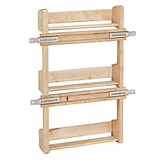 Image Of Rev A Shelf   4SR 18   Cabinet Door Mount Wood