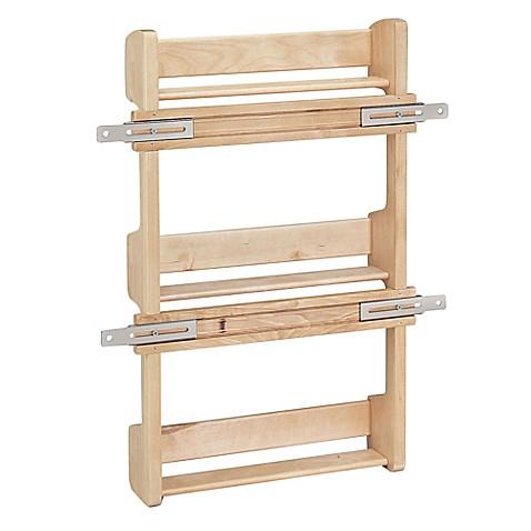Image Of Rev A Shelf   4SR 18   Cabinet Door Mount Wood